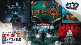 Upcoming Board Games Kickstarter 2nd half Jan 2018