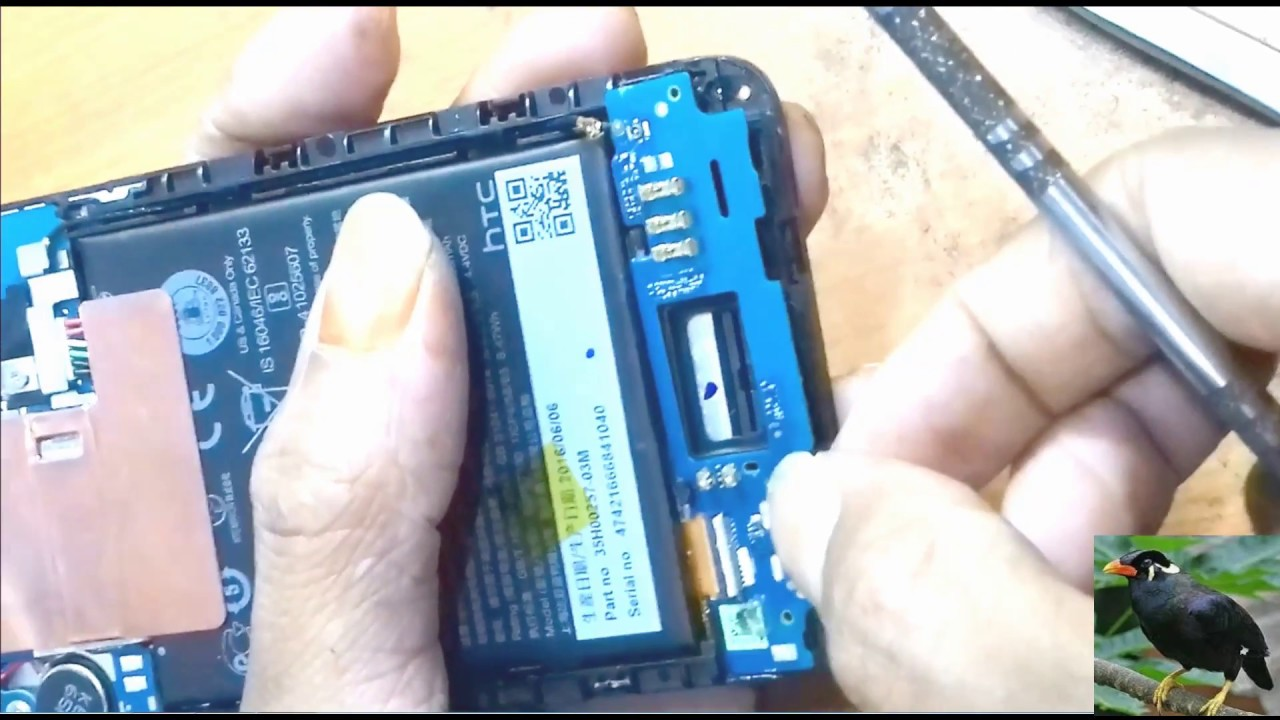 htc desire 610 charging port replacement repair & disassembly
