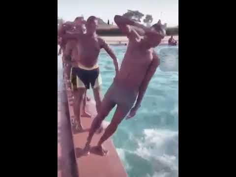 Nigerian Navy Swimming Trainings