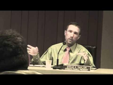 Does Alderman Steve Taylor Oppose the 1st Ammendme...