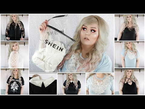 3466dde352 Shein Plus SIze Clothing Try On Haul 2019 - Vloggest