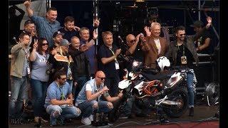 Геннадий Плис на MotoOpenFest 2017