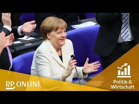 Ergebnis verkündet: Bundestag wählt Angela Merkel zu vierten Mal zur Bundeskanzlerin