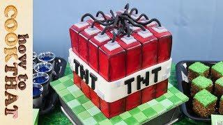 Minecraft EDIBLE slime balls, grass blocks TNT  How To Cook That Ann Reardon