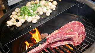 Steak & Garlic Mushrooms