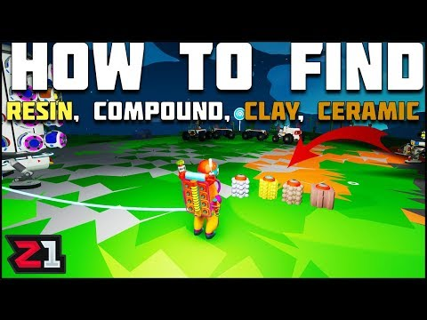 Astroneer Quick Tips! How To Find Compound, Resin, Clay and Ceramic | Z1 Gaming