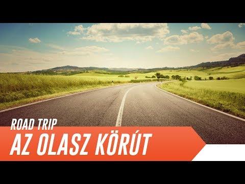 AZ OLASZ KÖRÚT | Olaszország-Szlovénia-Ausztria autóval | Road Trip [4K]