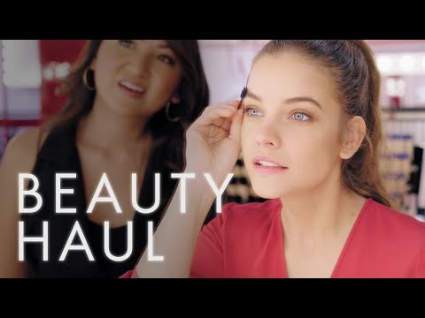 We Gave Barbara Palvin $150 at Armani Beauty. These Are the Four Things She Bought | Beauty Haul thumbnail