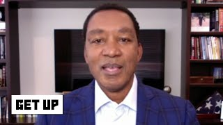 Isiah Thomas full interview on 'The Last Dance' handshake controversy | Get Up