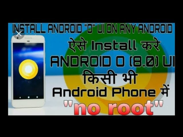 How To Upgrade Any Android Phones in8.0 OREO Version||With Oreo UI Beta Version||(Aashish Technical) #1