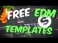 2 FREE exclusive EDM FL Studio templates just for you!