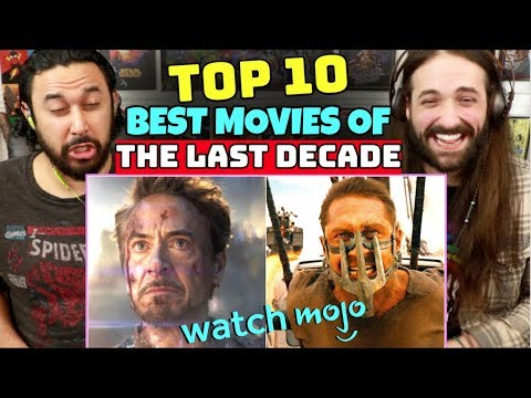 TOP 10 BEST MOVIES Of The Last DECADE | REACTION!!!