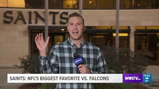 Live: Saints Massive Favorites Against Falcons