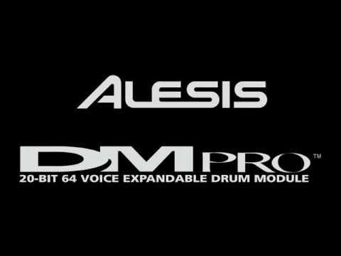 Alesis DM Pro Drum Trigger Module Demo Songs