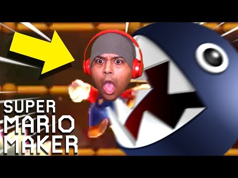 MY BLOOD PRESSURE WAS PUSHED TO THE LIMIT!! [SUPER MARIO MAKER] [#173]