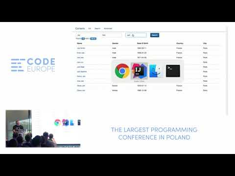 Advanced search for your legacy application - lecture by David Pilato - Code Europe Spring 2017
