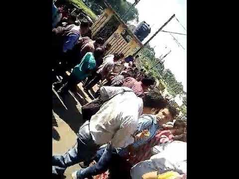 Train strike at kanchrapara