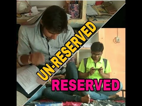 RESERVED and UNRESERVED in education || APY ENTERTAINMENT ||