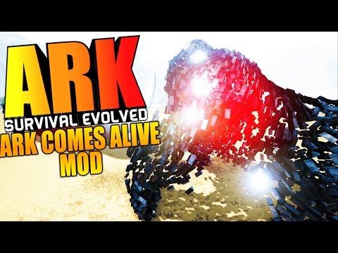 ARK Survival Evolved - ARK COMES ALIVE, LEGENDARIES & LORDS VS WARDENS BATTLE - ARK Mods Gameplay