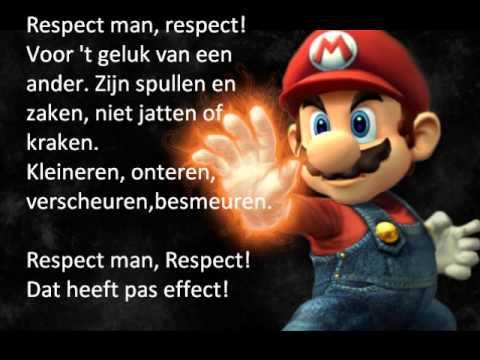 Respect man!