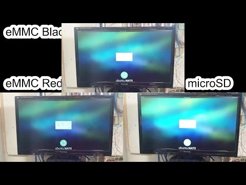 ODROID-C2 Storage Speed Test (eMMC vs microSD)