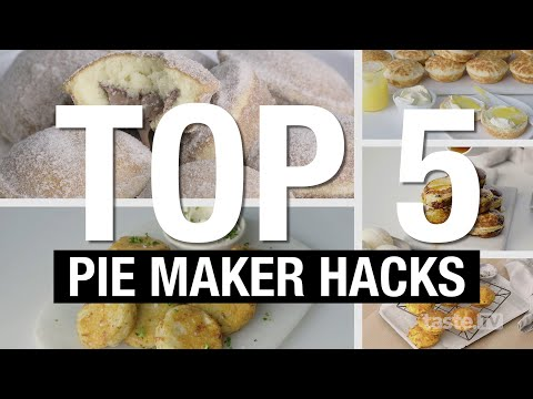 Top 5 Kmart Pie Maker Recipe Hacks   Taste.com.au