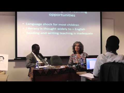 Mother Tongue Education & Children's Literature in Africa, Carole Bloch (South Africa PEN)