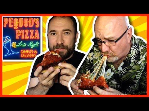 Pequod's Pizza Review with Guest WheezyWaiter (Craig Benzine) in Chicago