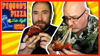 Pequod's Pizza Review With Guest Wheezywaiter (craig Benzine) In Chicago
