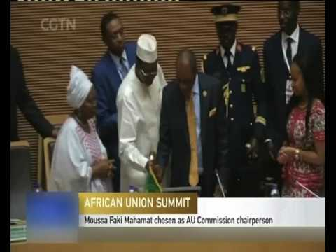 AU Chad's Moussa Faki Mahamat the new AU Commission Chair-NBC