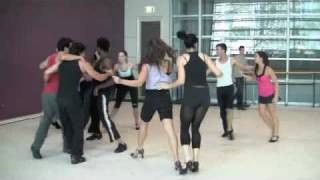 SHARKS dance in West Side Story rehearsals