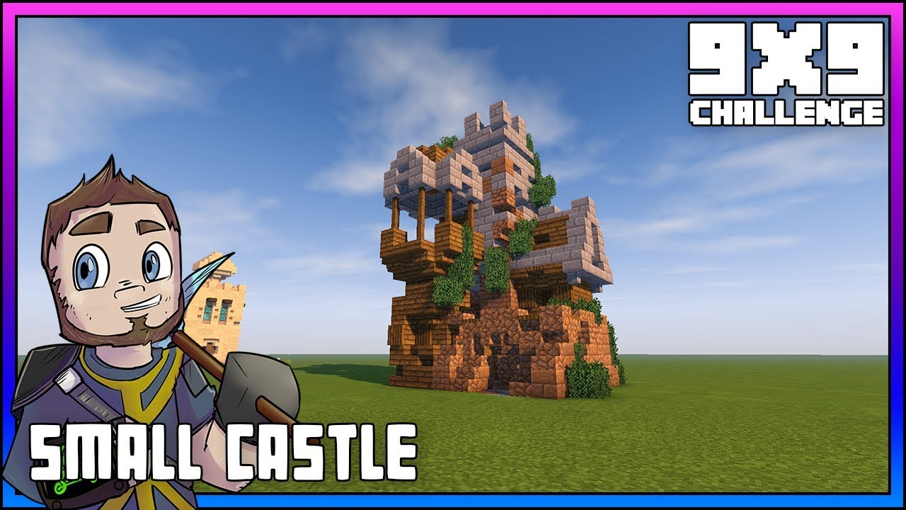 Minecraft 9x9 Challenge Small Castle Minecraft Let S
