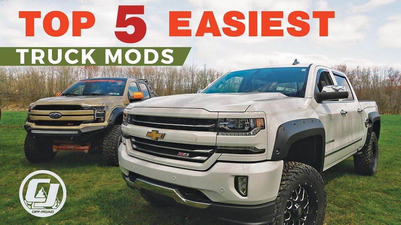 diy chevy truck mods