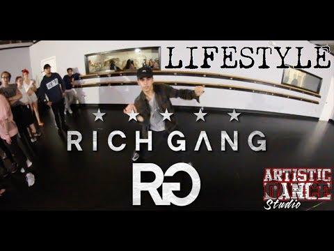 RICH GANG - LIFESTYLE | Johnny Correia CHOREOGRAPHY