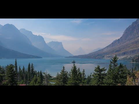 gopro cinematic travel video - glacier national park,montana