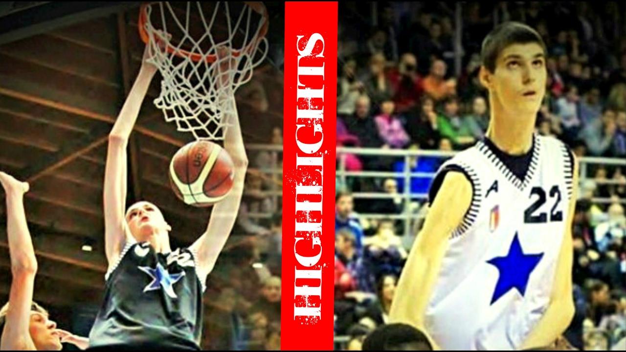 9397559243a Robert Bobroczky 7 7 Foot Tall Basketball Highlights Mix - YouTube