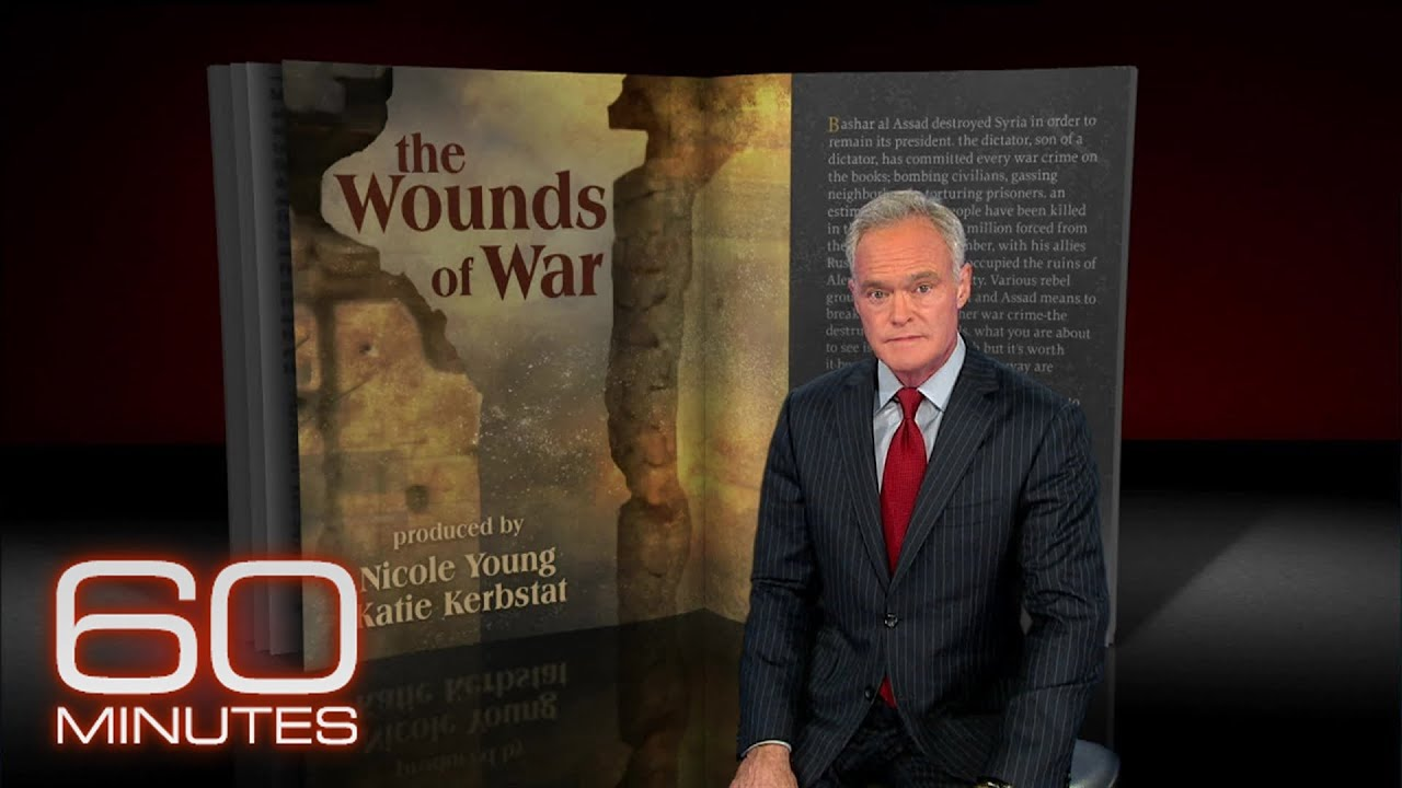 From the 60 Minutes Archive: Wounds of War
