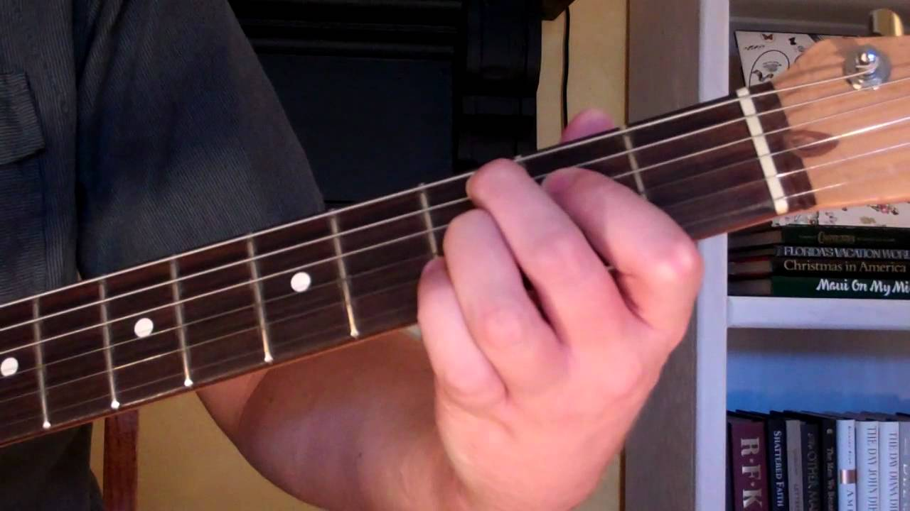 How To Play The C79 Chord On Guitar C 7th Augmented 9th Youtube