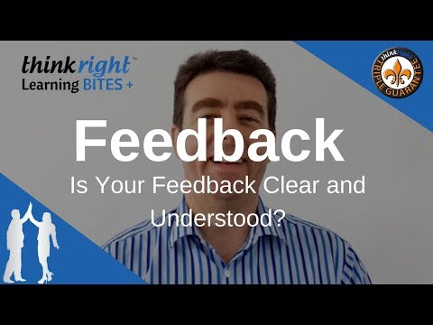 TRLB #84 Feedback - Is Your Feedback Clear and Understood?