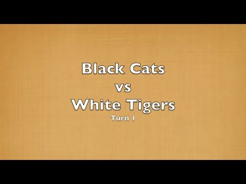 OCS Burma - Black Cats vs White Tigers - Turn 1 of 4