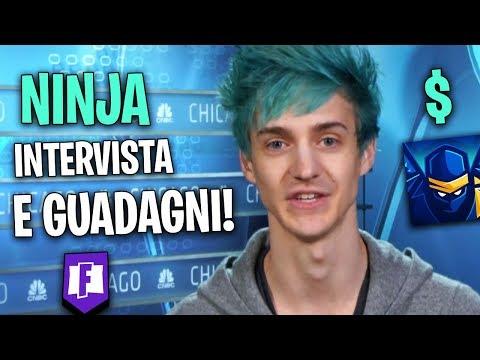 INTERVISTA NINJA! (Tyler) Quanto Guadagna e Cosa Fa? Fortnite Battle Royale