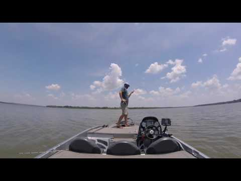 Grand Lake Offshore Bass Fishing