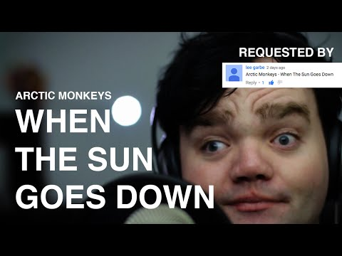 When The Sun Goes Down - Arctic Monkeys - that mark guy cover
