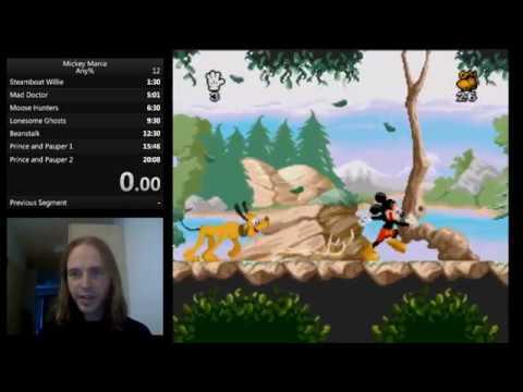 💣 Mickey mania snes speedrun   Download Tas Snes Magical