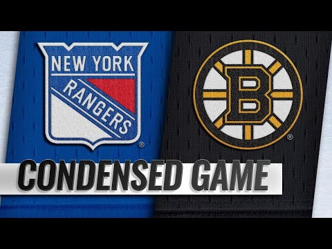 01/19/19 Condensed Game: Rangers @ Bruins
