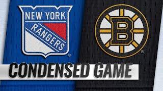 01/19/19 Condensed Game: Rangers @ Bruins