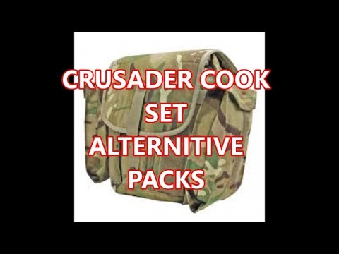 Crusader Alternative packs, For Cook Sets