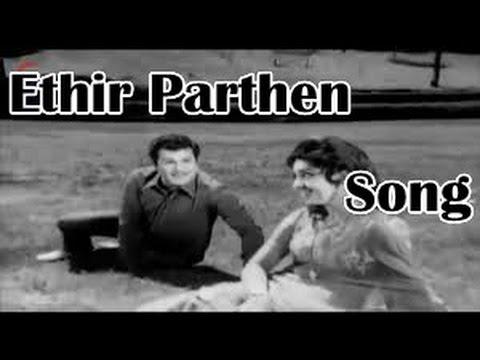 Ethir Parthen song HD -  Anbu Sagotharargal Movie   S P B HIts Love Songs