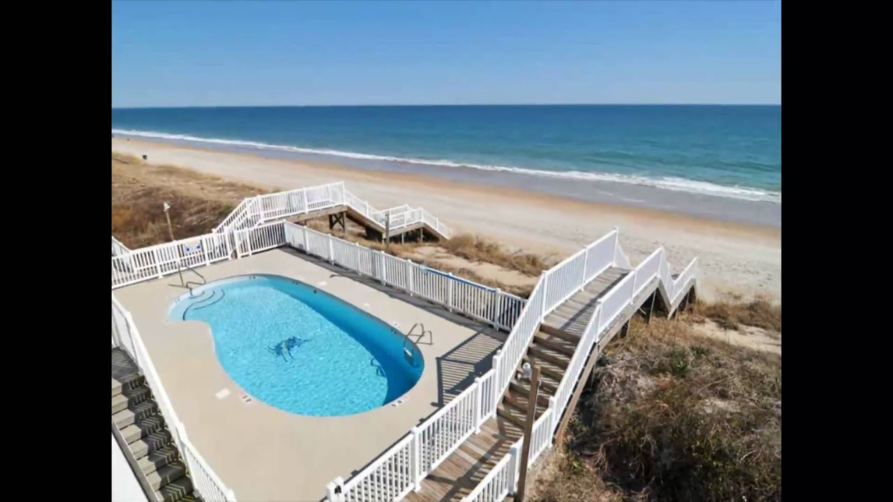 Topsail Island Vacation Rentals At Ocean Watch In Surf