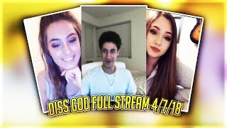 4/7/18 Diss God Full LIT Stream CALLING BADDIES - RiceGum - Pokimane - Instagram Model